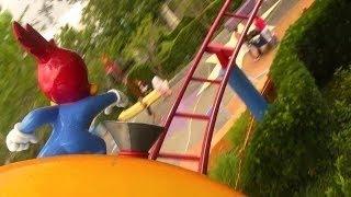 (HD POV) Woody The Woodpecker Roller Coaster (Universal Studios, Fl)