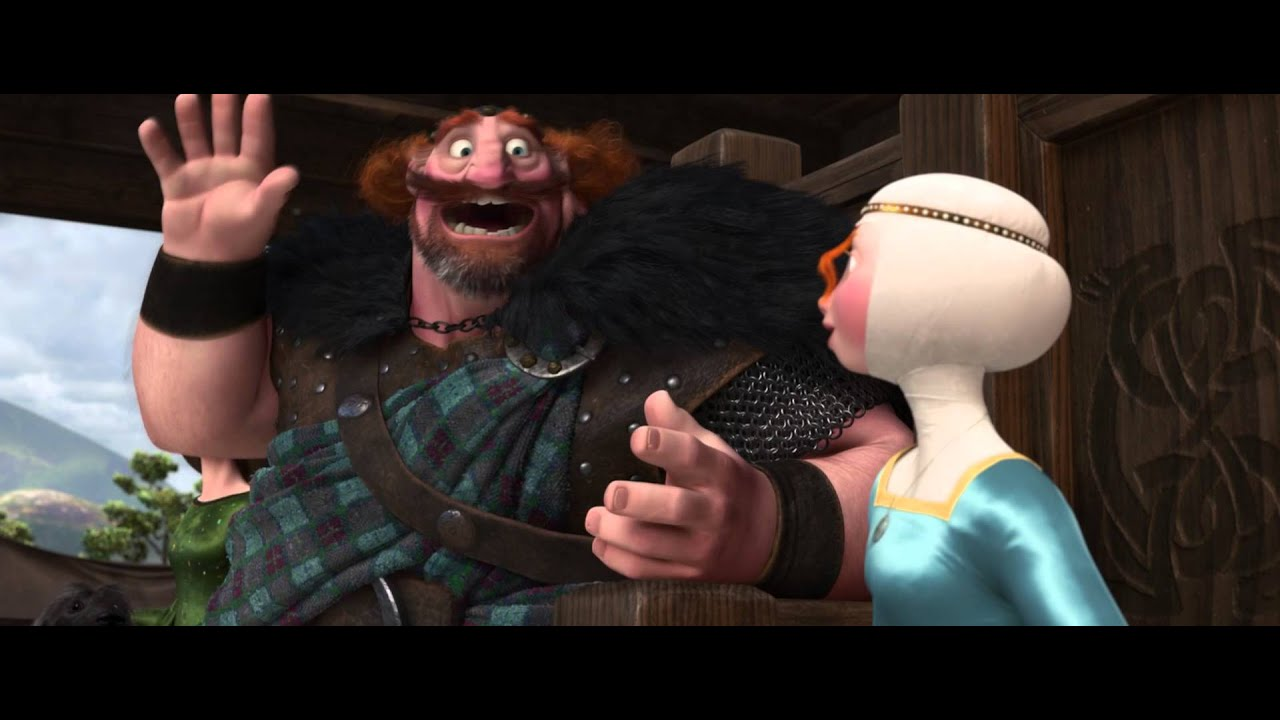 """Download Merida wins her own hand by skill of archery in """"Brave"""""""
