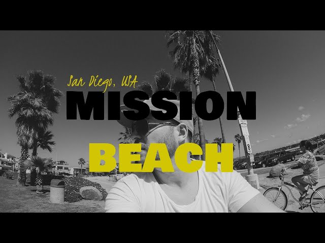Bicycle in Mission beach│San Diego, USA