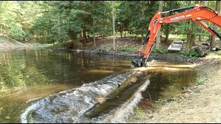 POND LOGS and Trail Build