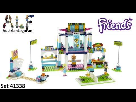 Lego Friends 41338 Stephanie's Sports Arena - Lego Speed Build Review