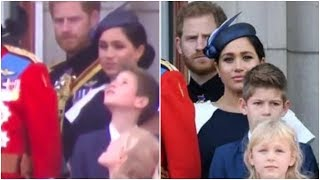 Prince Harry didn't Tell off Meghan at Trooping The Colour  Here's What Actually happened