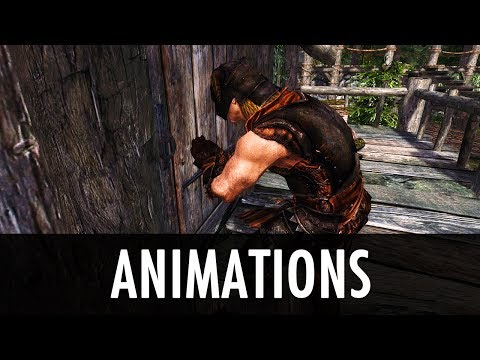Skyrim Mod: Animations