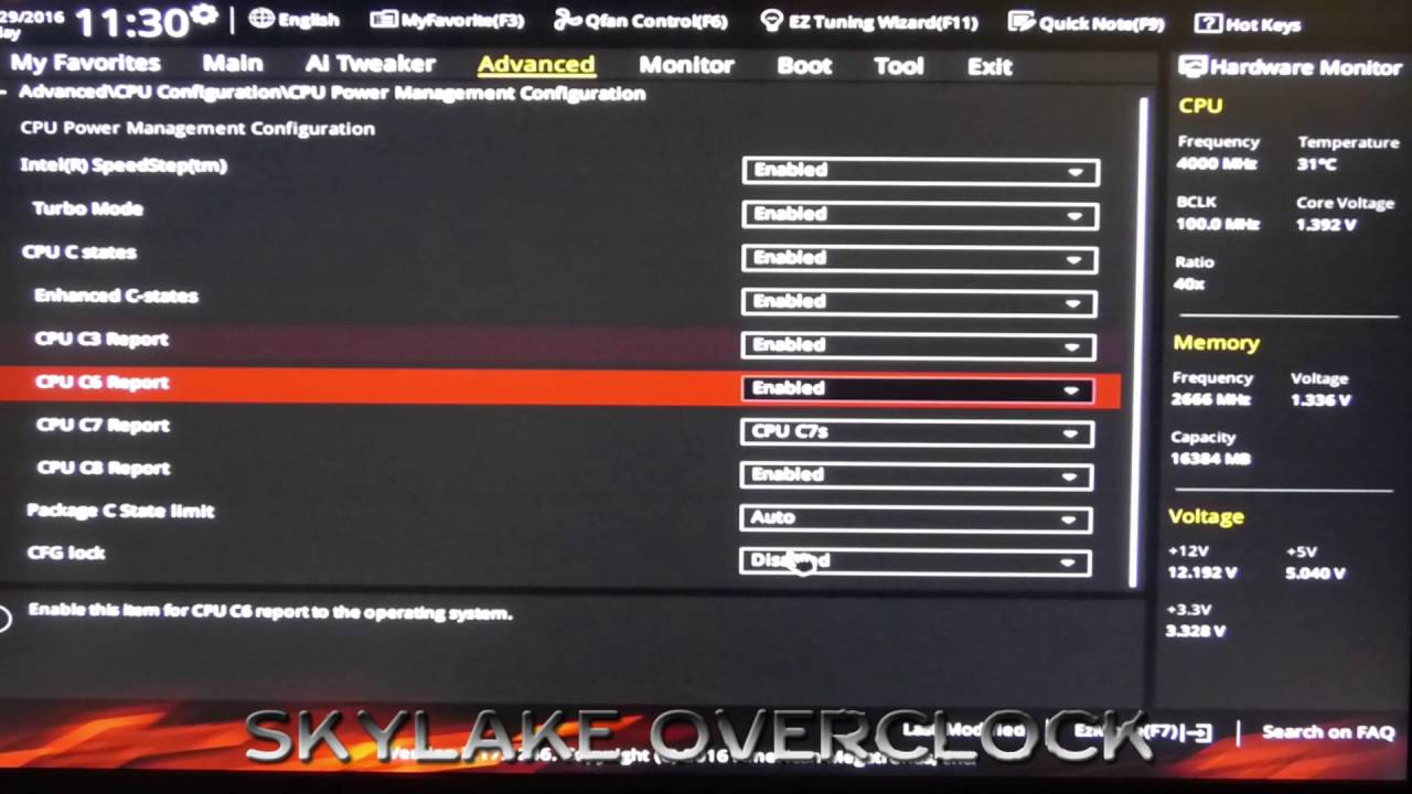 HOW TO overclock intel i7 6700K (SKYLAKE) 4 7 Ghz / Overclocking guide,BIOS  UEFI stable settings