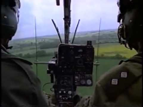 Flying Soldiers episode 2 - BBC 1997 documentary about trainee army helicopter pilots in the uk