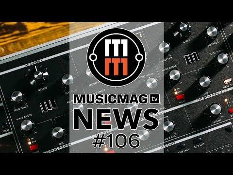 MUSICMAG TV NEWS #106: Полифоник от Moog, обзоры Op-Z и Overbridge 2, наушники Adam и др.