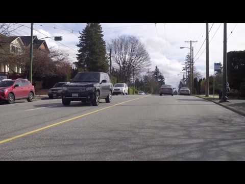 Vancouver Canada Streets - Driving to Kerrisdale Area - Wealthy / Rich Area - Luxury Housing