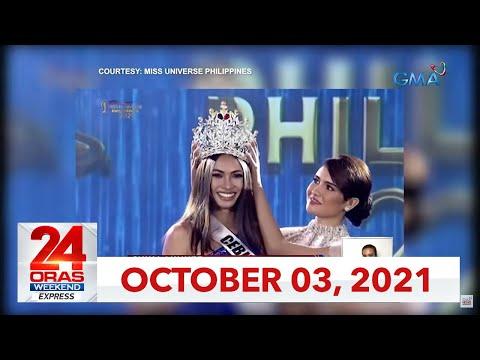 24 Oras Weekend Express: October 3, 2021 [HD]