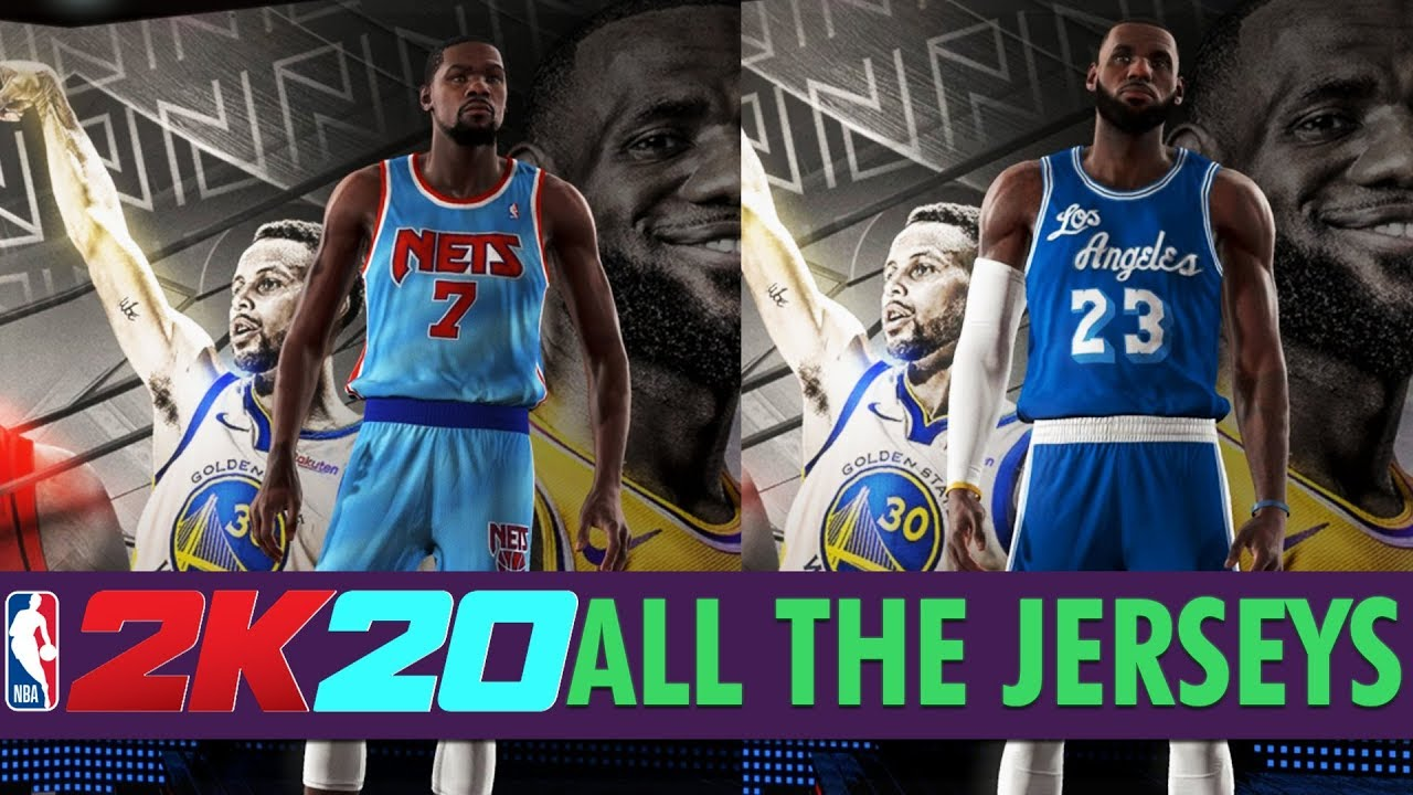 Nba 2k20 All Team Jerseys Uniforms In The Game