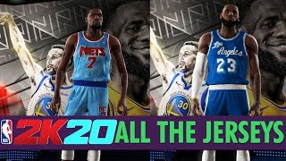 NBA 2K20 - All Team Jerseys/Uniforms In The Game