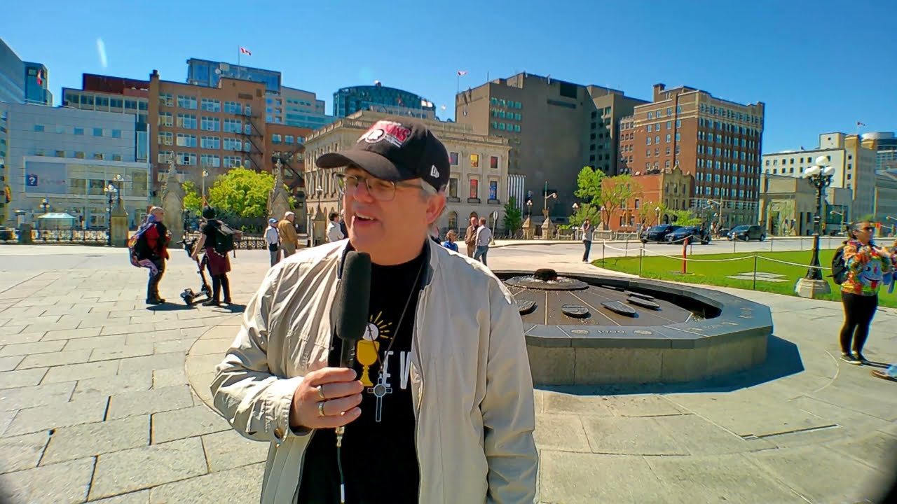 John @ Ottawa Freedom Rally on May 29, 2021