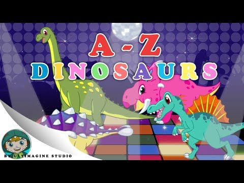 Dinosaur song AZ  Nursery Rhymes For Kids เพลงเด็ก ไดโนเสาร์ AZ