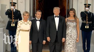 Melania dress picture State Dinner
