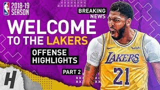 BREAKING Anthony Davis TRADED to the Lakers! BEST Highlights from 2018-19 NBA Season! Part ...
