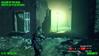Zombie Army Trilogy - Village of the Dead - All Gold Bars and Bottles Collectible Locations