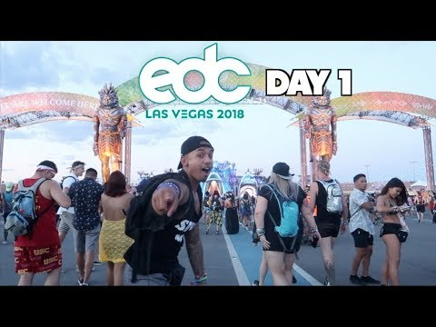 EDC 2018 Day 1! (Mini-Movie)