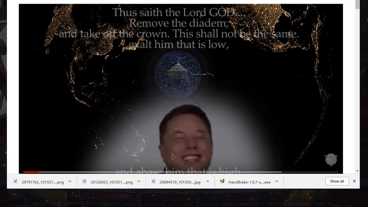 Lord Steven Christ Tweets Elon Musk - Concave Earth