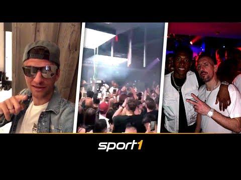 Bayern-Stars im Partyrausch mit Capital Bra! So wild war die Boateng-Feier | SPORT1