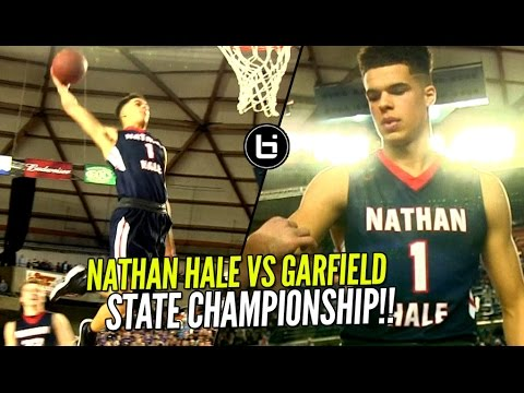 Nathan Hale vs Garfield State CHAMPIONSHIP! Michael Porter Jr NASTY OFF THE BACKBOARD DUNK!