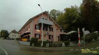 CH: Gemeinde Oensingen. Kanton Solothurn. Ortsdurchfahrt. Oktober 2019