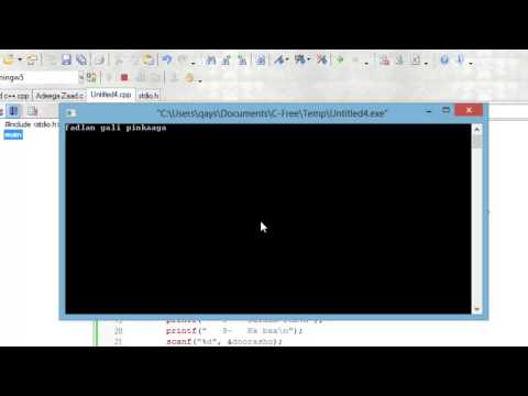 c programming:- how zaad work in programming 2013