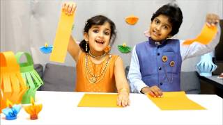 Create super-easy Diwali Craft with Esh & Nid - Diwali Celebrations 2018 | Turbo Kiddos Qatar