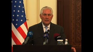 Tillerson in Qatar to Help End Gulf State Rift
