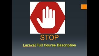 Laravel Basic To Advanced With Full project ( Course Overview )