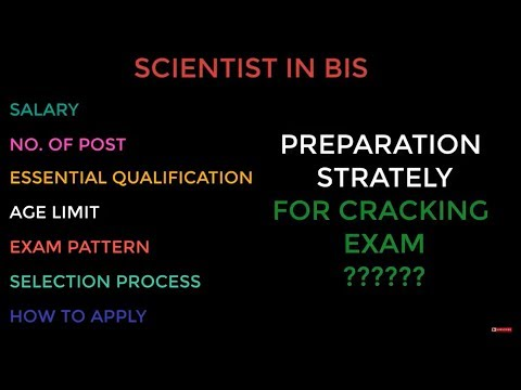 Every thing you want to know about BIS ( Bureau of Indian Standards) Exam