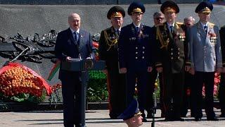Беларусь проводит политику добрососедства и миролюбия, помня уроки войны - Лукашенко