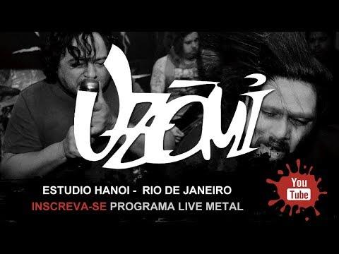 Programa Live Metal - Uzômi  no Estúdio Hanoi