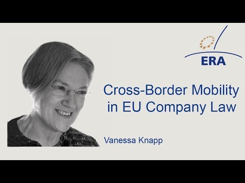 Cross-Border Mobility in EU Company Law