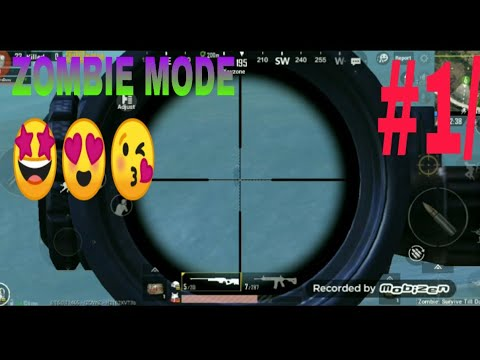 PUBG MOBILE ZOMBIE MODE - YouTube