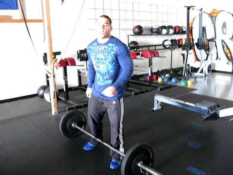 Tips on the Thruster CrossFit with Jason Khalipa