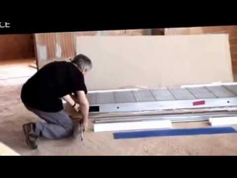 Instalaci n de armaz n para puerta corredera new space de for Armazon puerta corredera