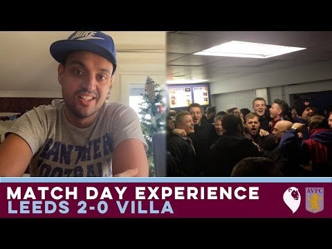 MATCH DAY EXPERIENCE + POST MATCH THOUGHTS | Leeds 2-0 Villa