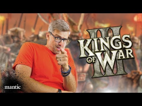 Road to Kings of War Third Edition!
