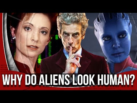 SciFi Reasons for Humanoid Aliens