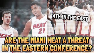The Miami Heat are a SERIOUS THREAT in the NBA's Eastern Conference!! Here's WHY!