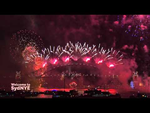 Welcome to 2016! Sydney New Year's Eve Fireworks (full show)