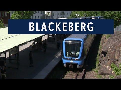 Blackeberg station Tunnelbanan i Stockholm 2017