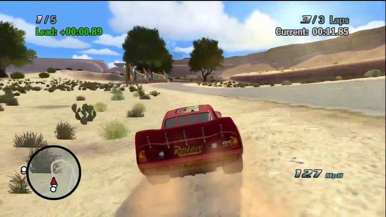 Cars Xbox 360: Tried To Play This One