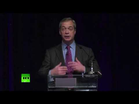 Nigel Farage blasts Tony Blair at the UKIP Spring Conference