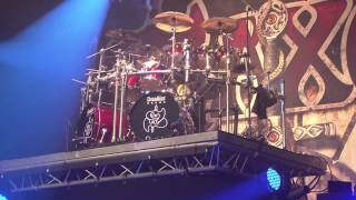 Nigel Glockler of Saxon at WACKEN Open Air 2012 - Drumsolo
