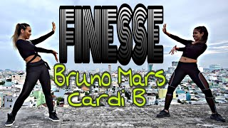 FINESSE - BRUNO MARS ft. CARDI B | MICHELLE VO | ZUMBA FITNESS | Dance Workout | US - UK 2018
