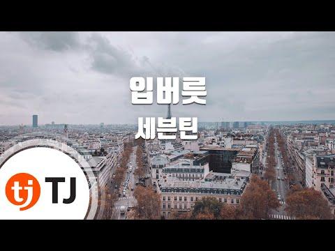 [TJ노래방] 입버릇 - 세븐틴(Seventeen) / TJ Karaoke
