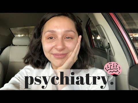 WEEK AS A MED STUDENT (psychiatry)