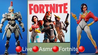Live Fortnite , Asmr, Giveaway at 200 subs, Season 9 battle pass gameplay