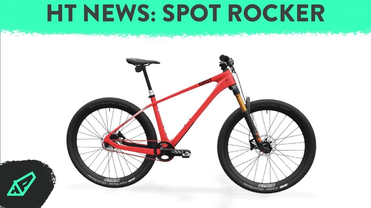 HARDTAIL NEWS E3 - Spot's Ultralight Carbon Belt-Drive Singlespeed: The New Spot Rocker Carbon