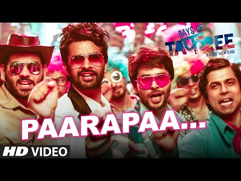 PAARAPAA Video Song   DAYS OF TAFREE - IN CLASS OUT OF CLASS   BOBBY-IMRAN   T-Series